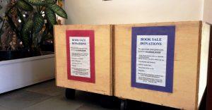 Book Sale Donation Bins