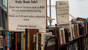 Daily Book Sales in Suffern Library