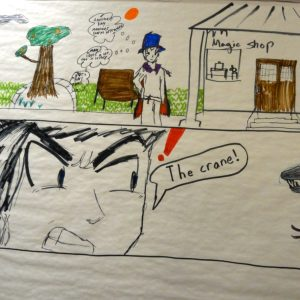 Teen Anime Drawing Suffern Library