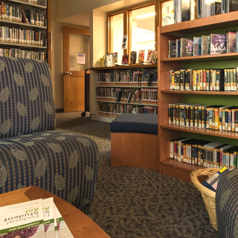Young Adult Room at Suffern Library